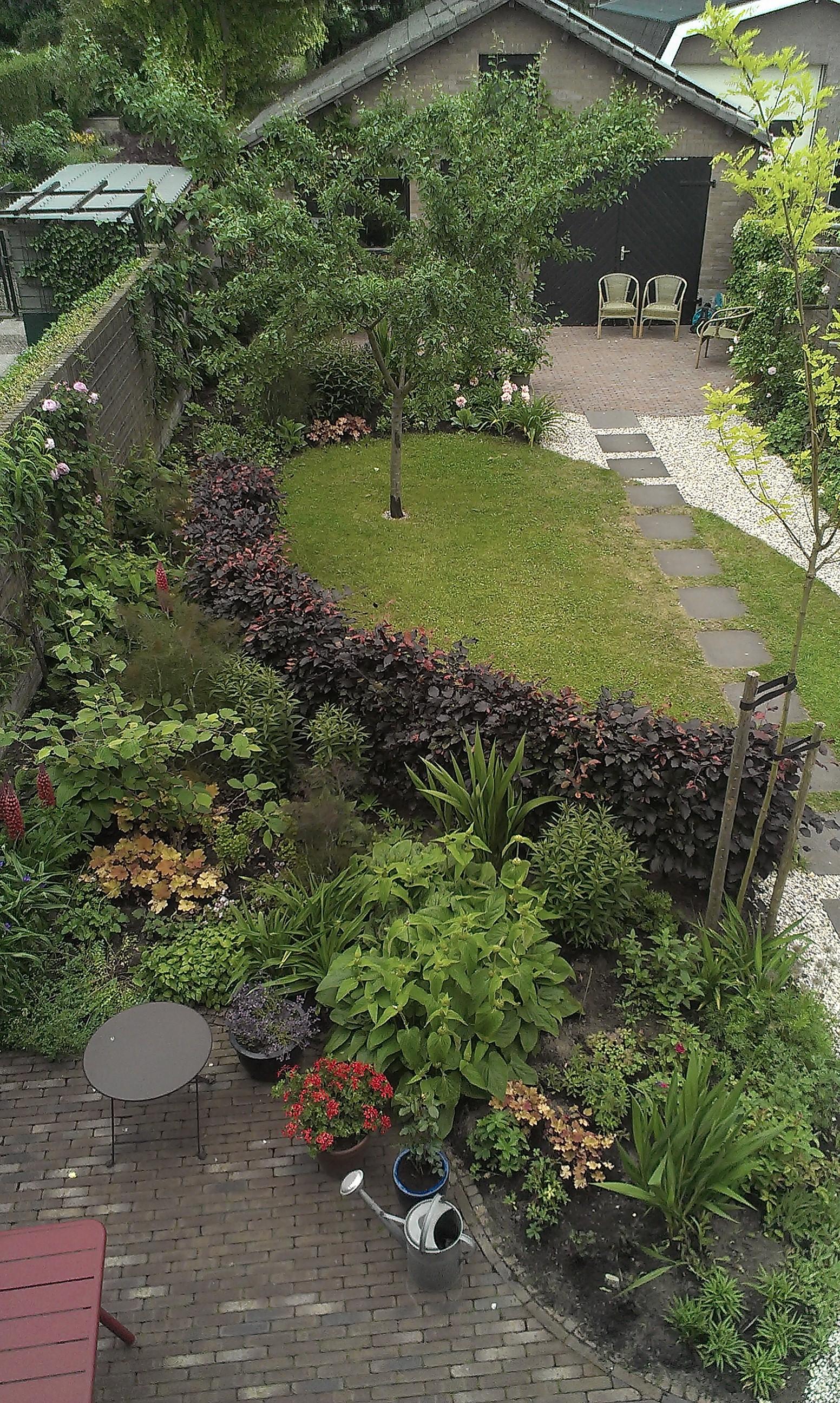 Van ontwerp naar tuin bloemen in de tuin - Separateur van stuk ontwerp ...